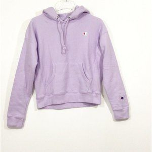 Champion Reverse Weave Hoodie in Lilac Purple Size
